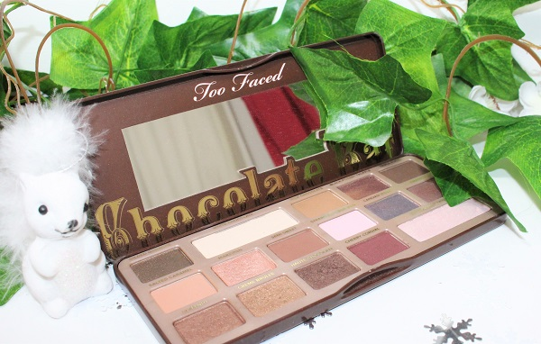 one week palette challenge the chocolate bar too faced