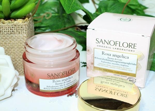 sanoflore baume de rose bio