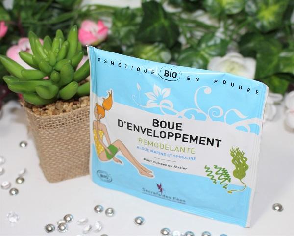 boue d'enveloppement remodelante Secrets des Fées biotyfull box