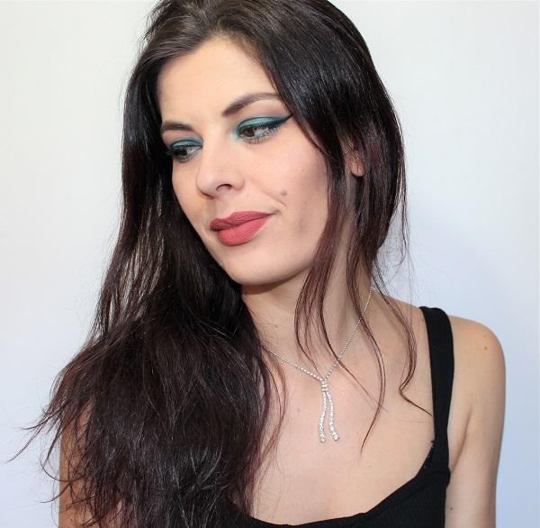 msc maquillage vert fonce aqua
