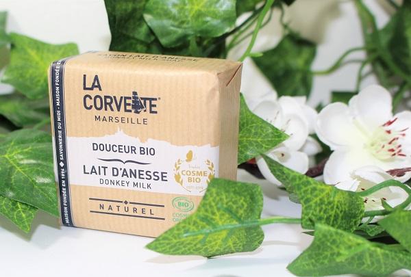 Savon douche bio au Lait d'Anesse La Corvette biotyfull box