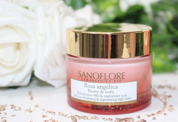 rosa angelica baume de rosee sanoflore