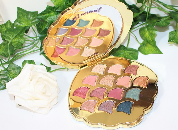 tarte be a mermaid palette selection