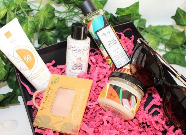 biotyfull box juillet produits bio et naturels