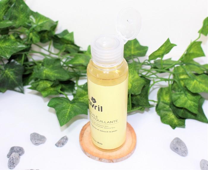 huile demaquillante peaux sensibles bio avril