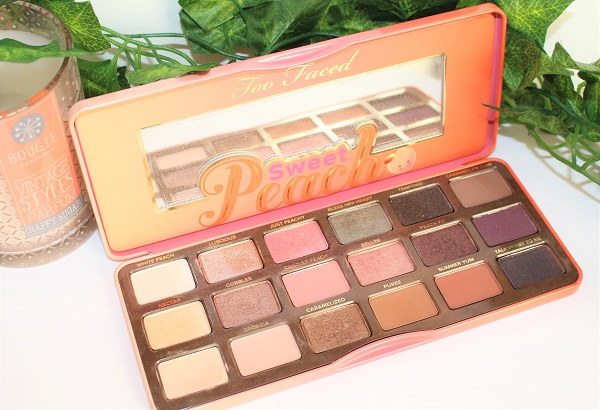 selection palette sweet peach palette too faced