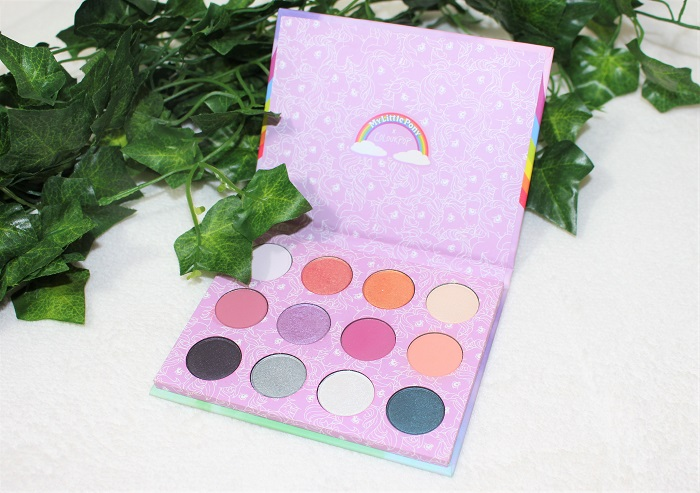 palette my little pony colour pop decembre