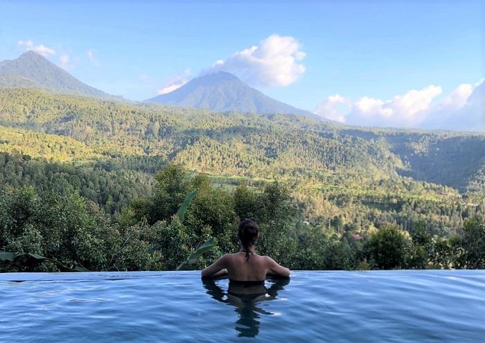 hotel munduk piscine - voyage bali