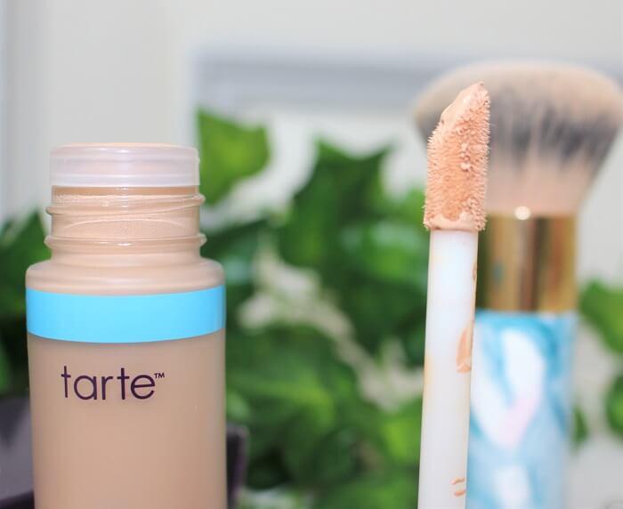 avis shape tape hydrating foundation Light medium honey tarte cosmetics