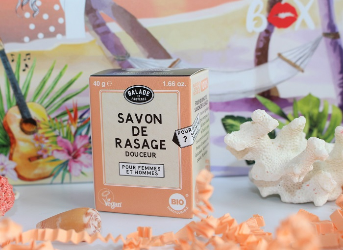 pain de rasage Douceur Balade en Provence biotyfull box