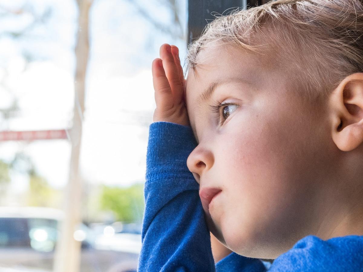 Séparation de l'enfant et du parent