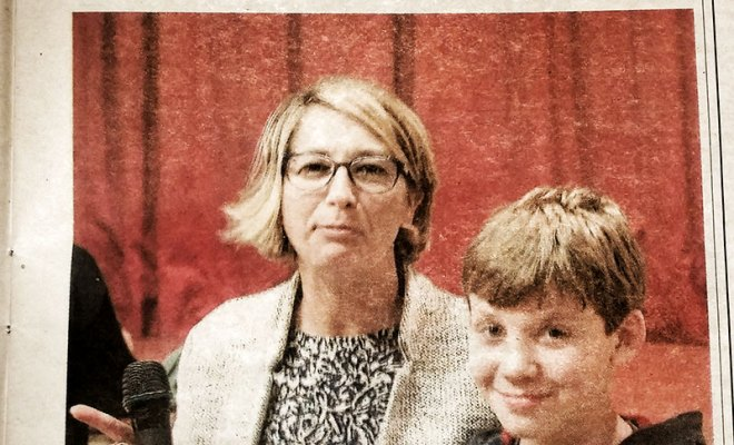 Revue de presse de l'INDEPENDANT DU PAS-DE-CALAIS, jeudi 24 novembre 2016, Les Dauphins Audomarois, Philippe MARTINS webmaster, créateur de sites internet