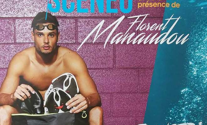 Florent Manaudou sera le parrain pour la Nuit de l'eau, à SCENEO (18/03/2017)