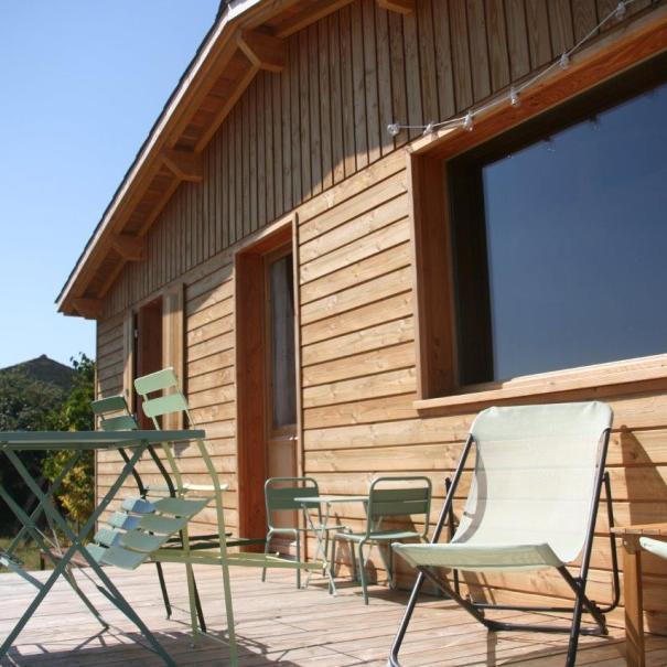 Domaine des Deux Tilleuls - La Cabane du verger gîte écologique Charente-Maritime