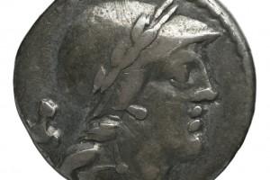 clé de lyre / Chiffre 51 en grec 3.50gr _ 19.3mm