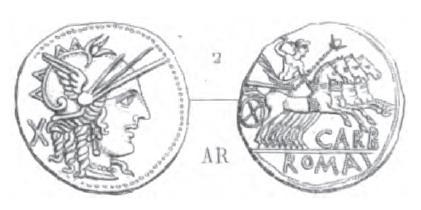 Denier Papiria _ RRC 279/1