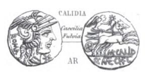Denier Calidia _ RRC 284/1a