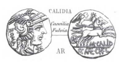 Denier Calidia _ RRC 284/1a