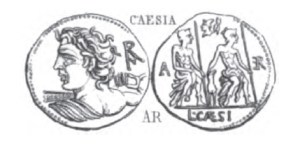 Denier Caesia _ RRC 298/1