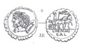 Denier Serratus Memmia _ RRC 313/1