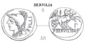 Denier Servilia _ RRC 328/1