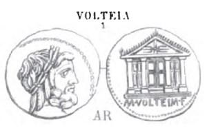 Denier Volteia _ RRC 385/1