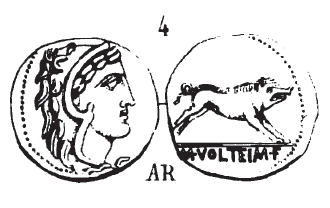 Denier Volteia _ RRC 385/2