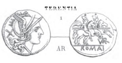 Denier Terentia _ RRC 126/1