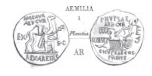 Denier Aemilia _ RRC 422/1b
