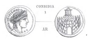 Denier Considia _ RRC 424/1