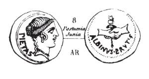 Denier Postumia _ RRC 450/2
