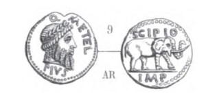 Denier Scipion _ RRC 459/1
