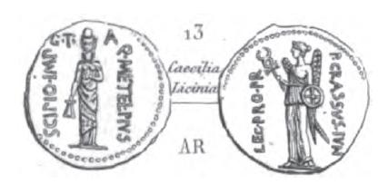 Denier Scipion et Crassus _ RRC 460/4