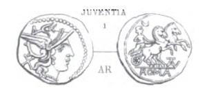 Denier Juventia _ RRC 161/1