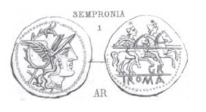 Denier Sempronia _ RRC 169/1