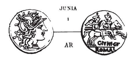 Denier Junia _ RRC 210/1