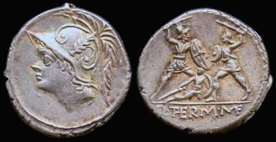 1151MI – Denier Minucia – Quintus Minucius Thermus