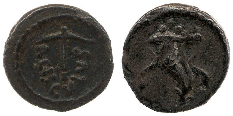 1514VA – Sesterce Valeria – Lucius Valerius Acisculus