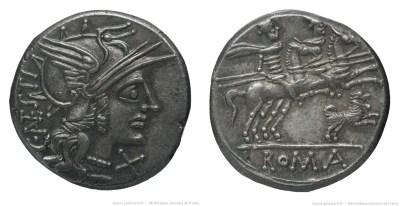 891AN – Denier Antestia – Caius Antestius