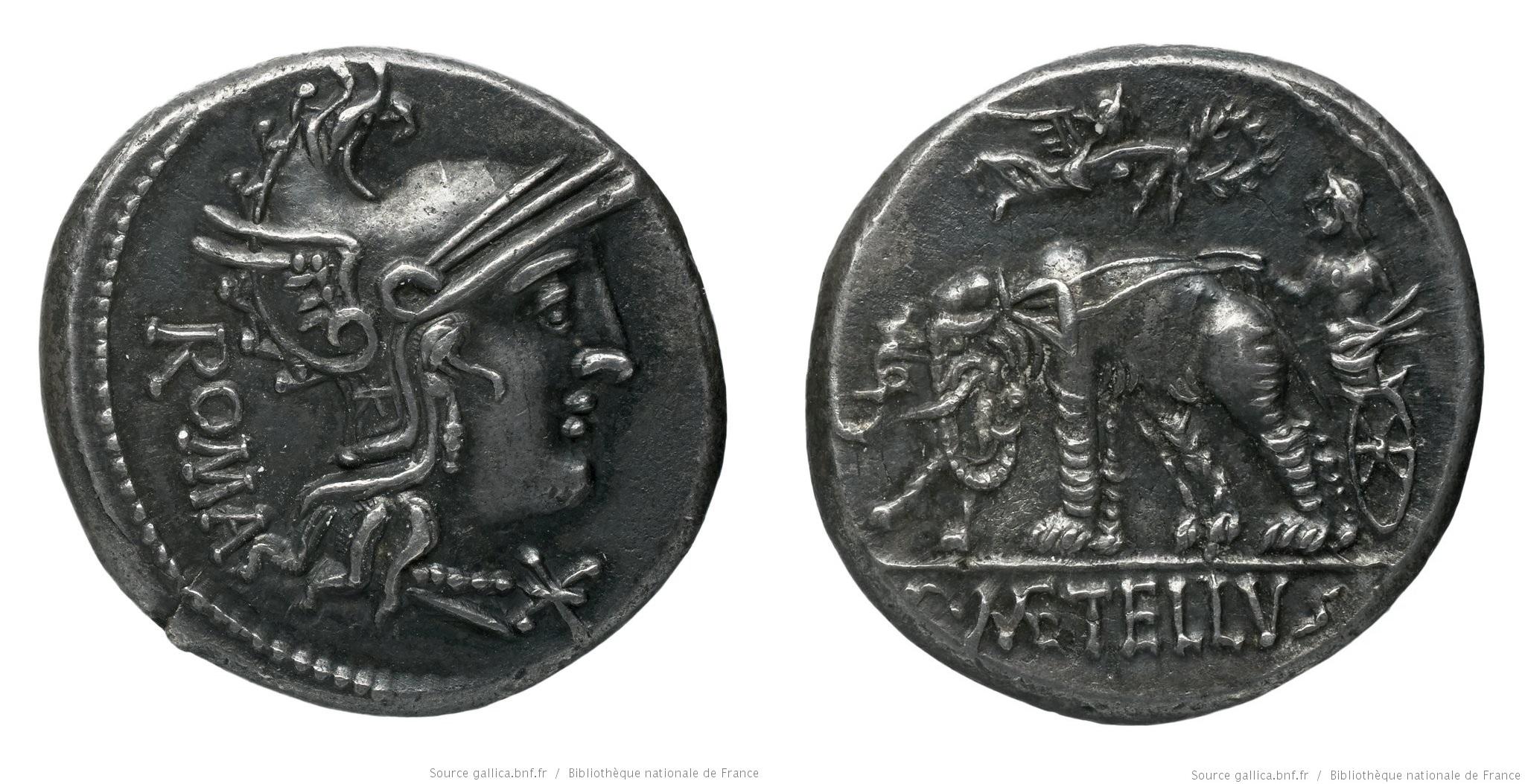 1040CA – Denier Caecilia – Caius Cæcilius Metellus Caprarius