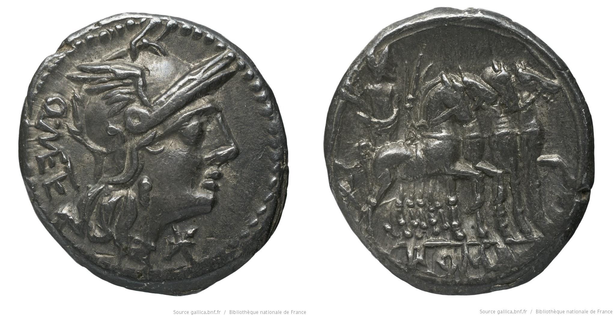 998CA – Denier Caecilia – Quintus Cæcilius Metellus