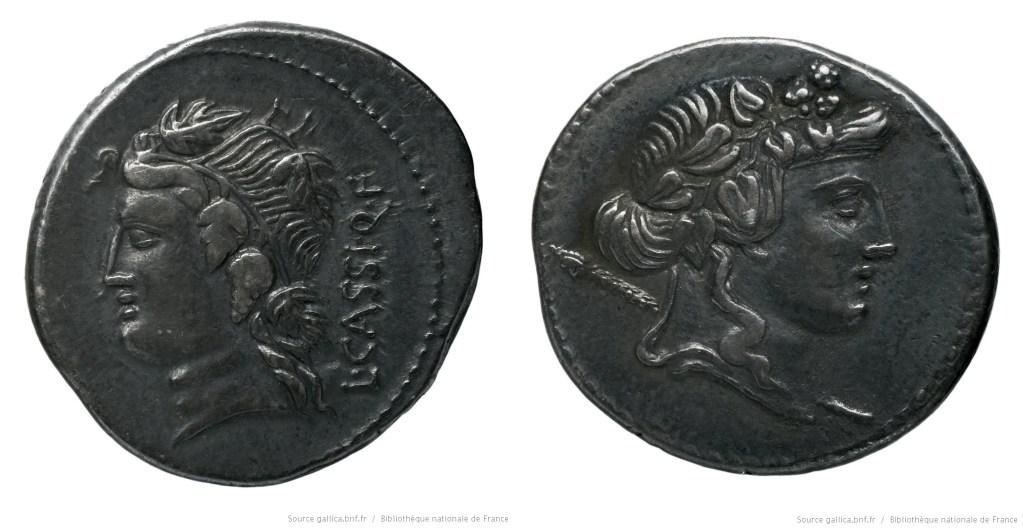 1323CA – Denier Cassia – Lucius Cassius Longinus