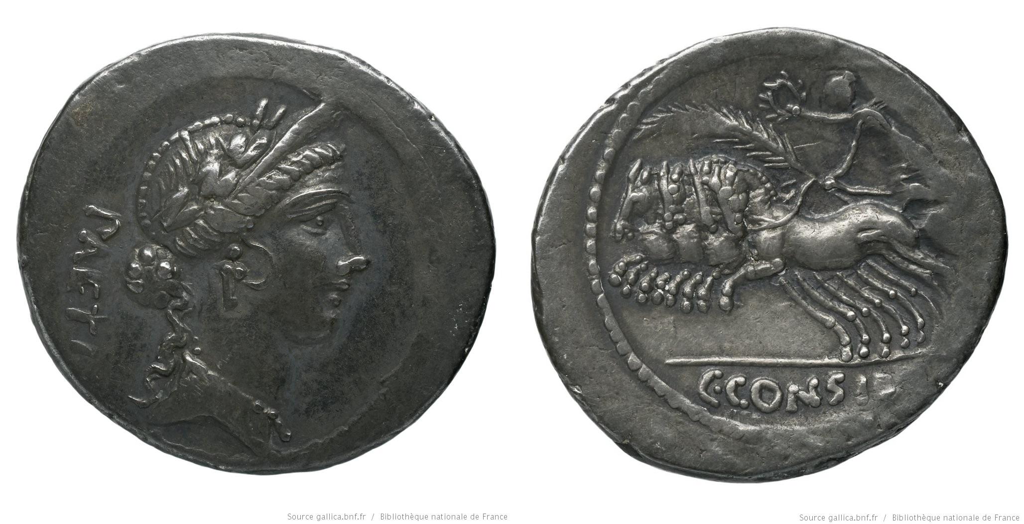 You are currently viewing 1485CO – Denier Considia – Caius Considius Pætus