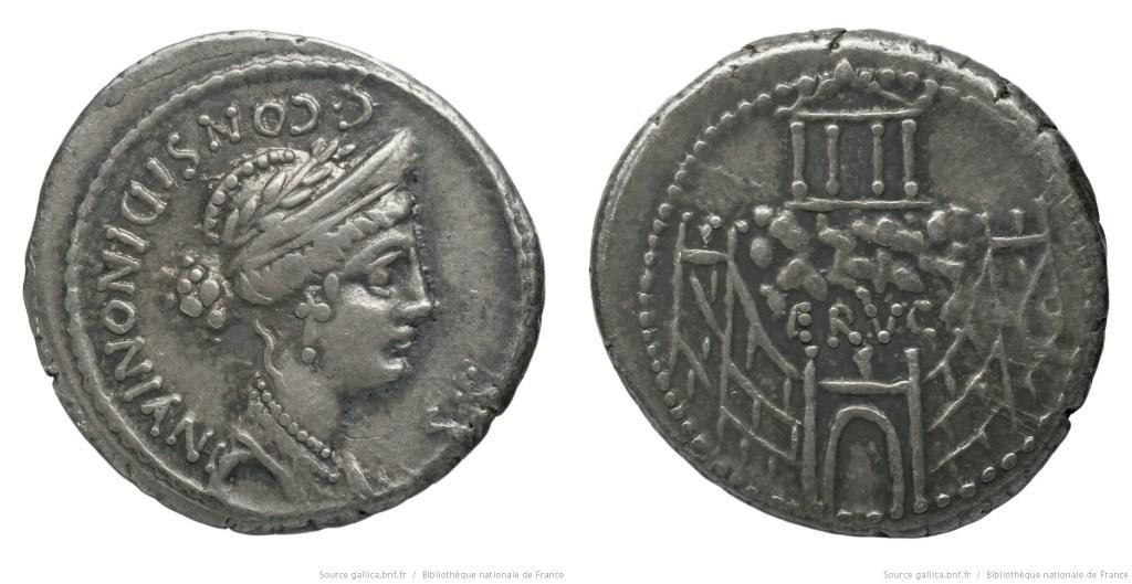 Read more about the article 1393CO – Denier Considia – Caius Considius Nonianus