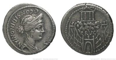 1393CO – Denier Considia – Caius Considius Nonianus
