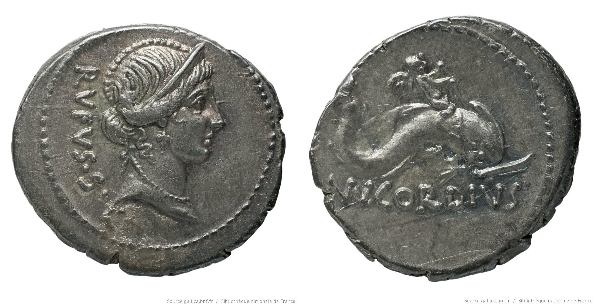 1471CO – Denier Cordia – Manius Cordius Rufus