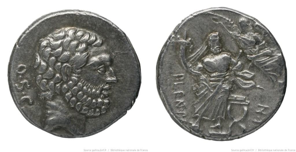 1339CO – Denier Cornelia – P. Cornelius Lentulus Spinther