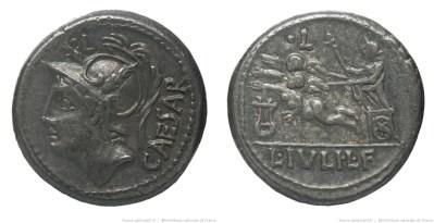 1152JU – Denier Julia – Lucius Julius