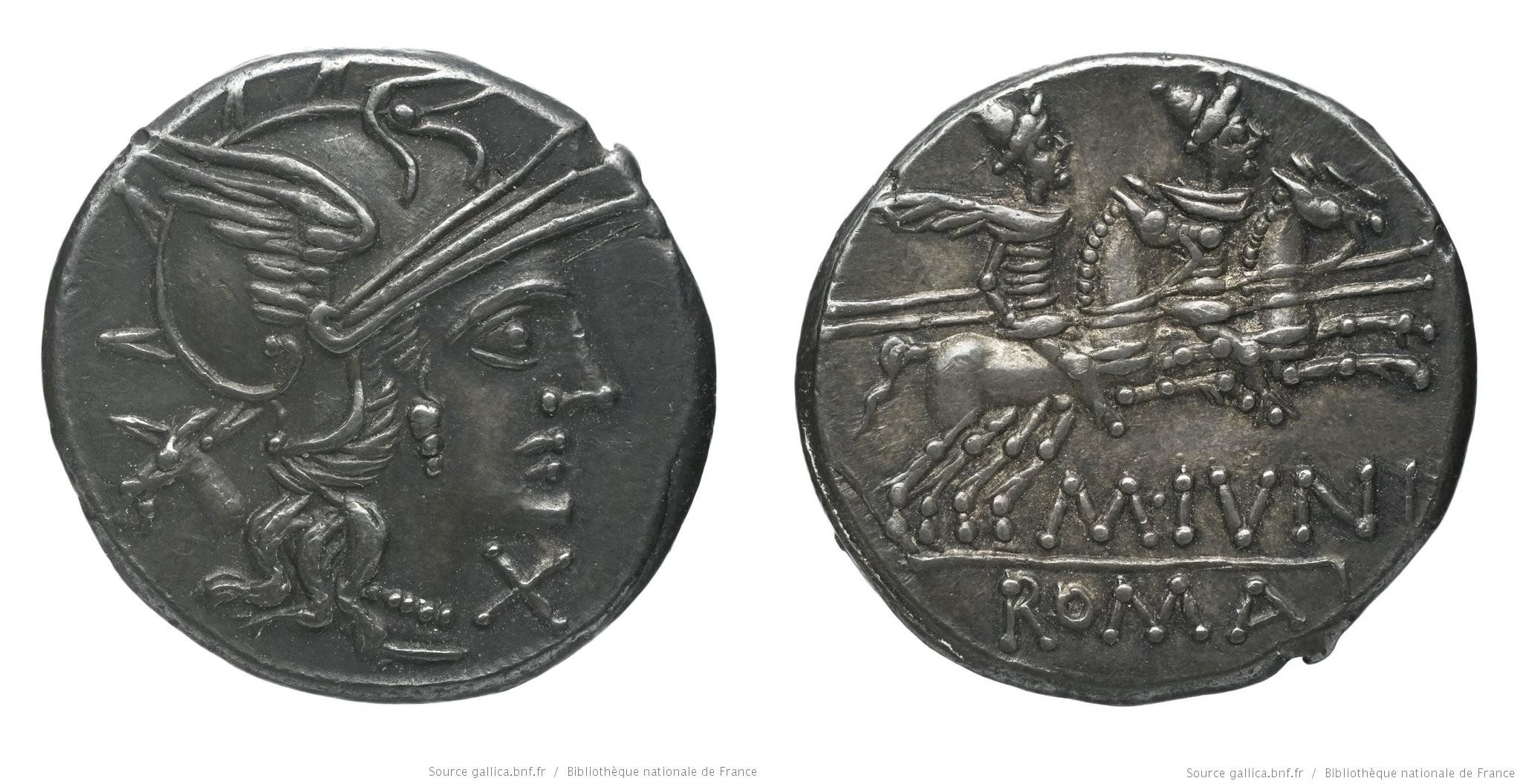 898JU – Denier Junia – Marcus Junius
