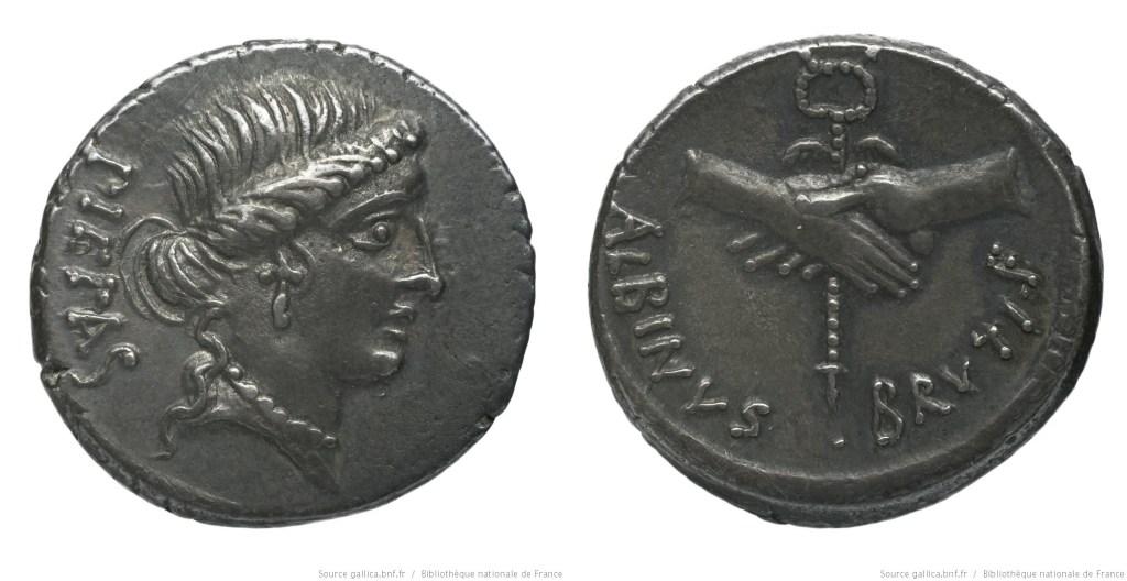 1440PO – Denier Postumia – Decimus Postumius Albinus